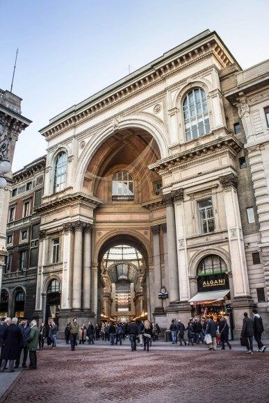 Piazza della Scala, Galleria Vittorio Emmanuele