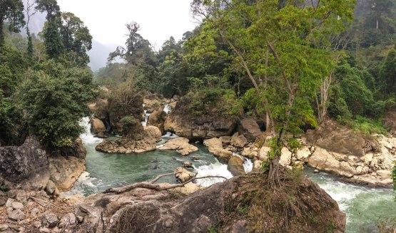 Waterfall near Ba Be lake