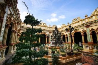 Vinh Trang Pagoda in Mỹ Tho