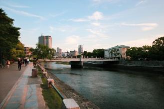 Riverside near Memorial Park