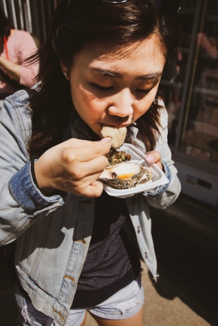 Oyster lover!