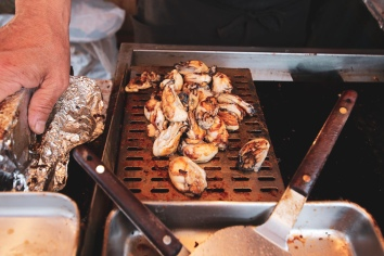 Griller oysters