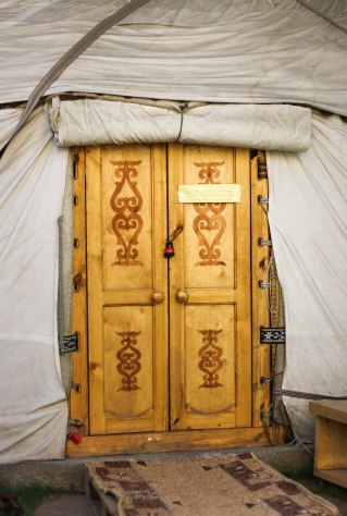 Fancy sleeping in a yurt?
