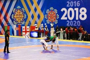 Some sort of wrestling sport