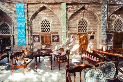 Tea time in Bukhara